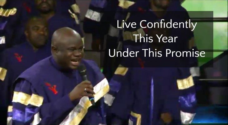 Live Confidently This Year Under This Promise 2018