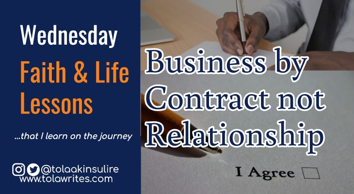 Business By Contract