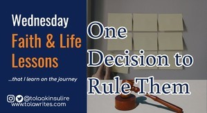 One Decision to Rule Them